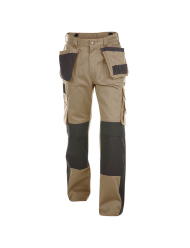 Dassy Seattle Arbeitshose mit Hängetaschen und Kniepolstertaschen Herren - 245 g/m²