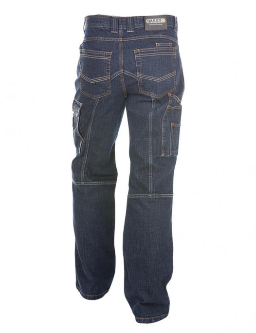 Dassy, Knoxville, arbeitshose, arbeitsjeans, jeans, hose, arbeit, workwear, 2006 - Dassy-Dassy Knoxville Arbeitsjeans mit Kniepolstertaschen Herren - 390 g/m²-DA-200691
