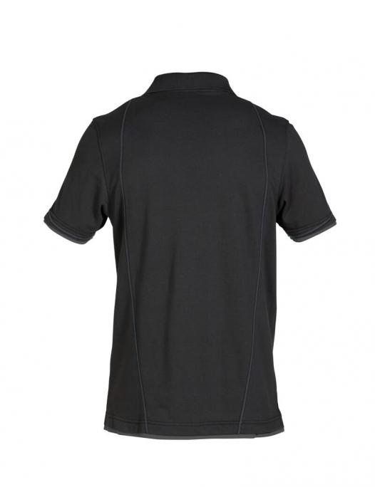 dassy, poloshirt, shirt, orbital, zweifarbig, schreiner, tischler, holzverarbeit - Dassy-Dassy Orbital Poloshirt Herren - 220 g/m²-DA-710011