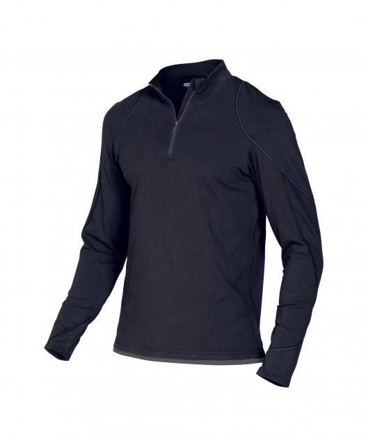 dassy, longsleeve, sonic, zweifarbig, shirt, kfz, mechaniker, bau, metall, zweir - Dassy-Dassy Sonic T-Shirt mit langen Ärmeln Herren - 220 g/m²-DA-710012