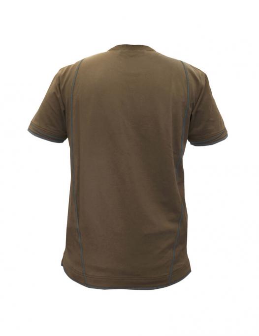dassy, t-shirt, shirt, kinetic, zweifarbig, schreiner, tischler, holzverarbeitun - Dassy-Dassy Kinetic T-Shirt Herren - 190 g/m²-DA-710019