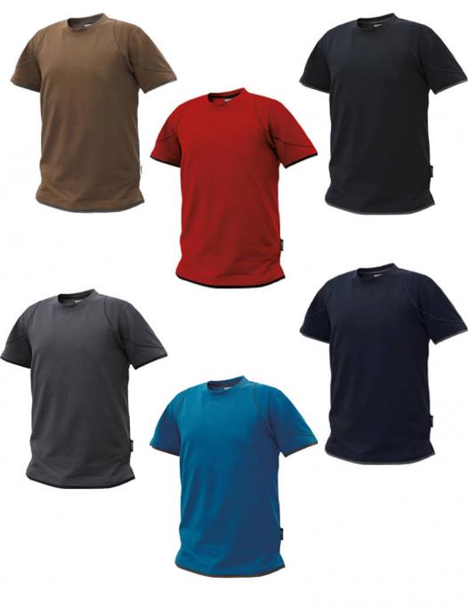 dassy kinetic t-shirt anthrazitgrau schwarz DA-710019-6479-Dassy Kinetic T-Shirt Herren - 190 g/m²-DA-710019