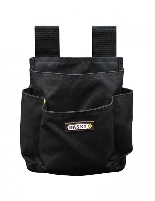 dassy, werkzeugtasche, tasche, werkzeug, cordura, arbeit, gürtel, druckknöpfe, a - Dassy-Dassy Brighton Werkzeugtasche-DA-800002