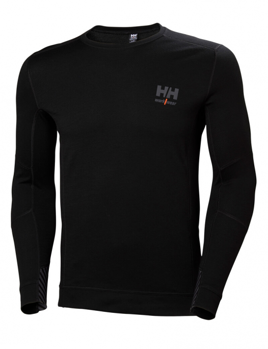 helly hansen, lifa, merino, longsleeve, langarm, winter, kalt, warm, crewnack, l - hhworkwear-Helly Hansen Lifa Merino Crewneck Herren-HE-75106