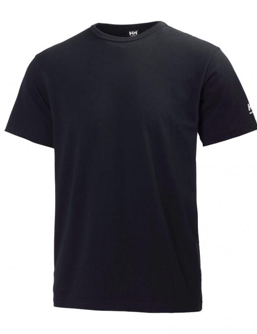 Helly Hansen, manchester, T-Shirt, kurzarm, shirts, herren, männer, helly, hansen, stick, druck, veredelung, individualisierung, logo schwarz, racer, blau, navy, grau, 79098, 530, 590, 900, 920, 970, 990 - hhworkwear-Helly Hansen Manchester T-Shirt Herren-HE-79098
