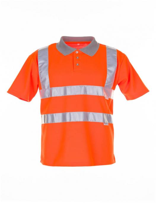 planam, warnschutz, schutzbekleidung, arbeit, work, reflektion, gelb, orange, warn, poloshirt, polo, shirt, 209, 2098, müllmann, müll, deponie, straßenbau, strassenbau, feuerwehr, bau, arbeitskeidung-Planam Poloshirt Warnschutz-PL-209