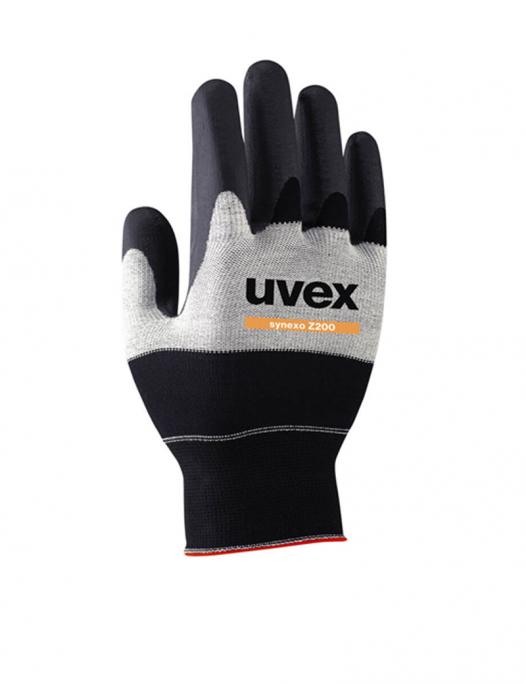 uvex, schutz, handschuhe, synexo, leicht, atmungsaktiv, montage, kleinarbeiten, präzision, z200, öl, werkstatt, robust damen, herren, frauen, männer-Uvex Synexo Z200 Handschuhe-UV-60020