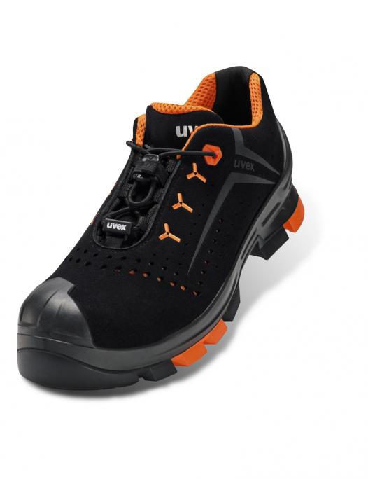 uvex 2, uvex sicherheitsschuh, s1, src, orthopädisch, halbschuh, schuhe, arbeit, work, damen, herren, männer, frauen, sohle, schnürrer, zehenschutz, schutzkappe, einlagen, gelocht, arbeitsschuhe-Uvex 2 Sicherheitsschuh S1 SRC Weite 10-UV-6501