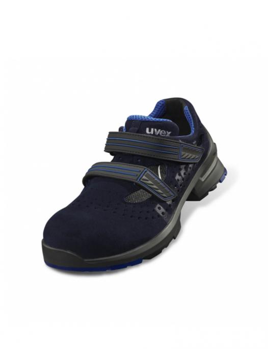 uvex, sport 1, sicherheitsschuh, s1, src, orthopädisch, sandale, schuhe, arbeit, - Uvex-Uvex 1 Sicherheitssandale S1 SRC Weite 12-UV-8530.9