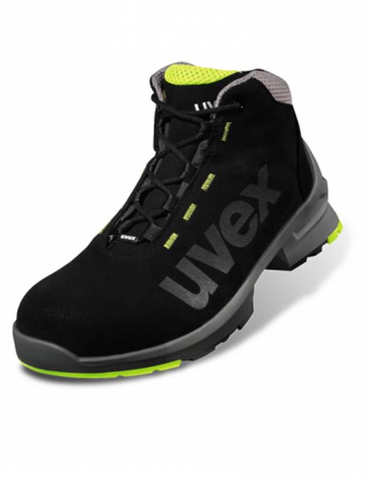 uvex, sport 1, sicherheitschuh, s2, src, orthopädisch, steifel, schuhe, arbeit, - Uvex-Uvex 1 Sicherheitsstiefel S2 SRC Weite 11-UV-8545.8