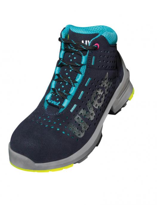 uvex 1, uvex sicherheitsschuh, s1, src, orthopädisch, stiefel, schuhe, arbeit, w - Uvex-Uvex 1 Ladies Stiefel S1 SRC Weite 10-UV-8563.7