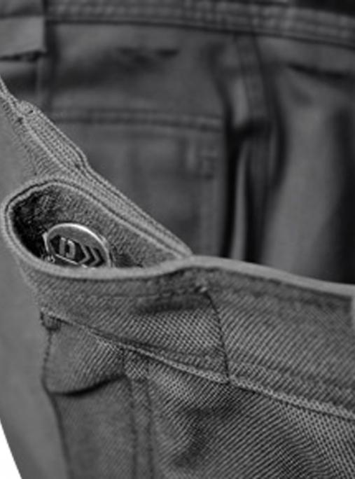 Robuste Arbeitshose, arbeitshose mit knieposter, dassy, dna - Dassy-Dassy Connor Arbeitshose mit Kniepolstertaschen Herren-DA-200893