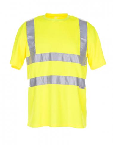 Planam Warnschutz T-Shirt Unisex