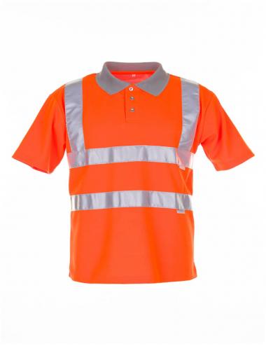 Planam Poloshirt Warnschutz