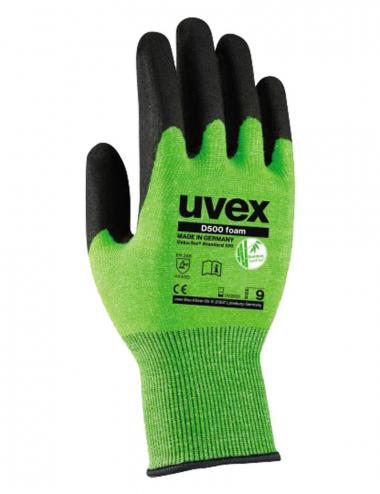 Uvex D500 foam Schnittschutz-Handschuhe